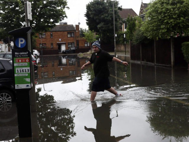 Flooding Causes Travel Chaos In The South Of England