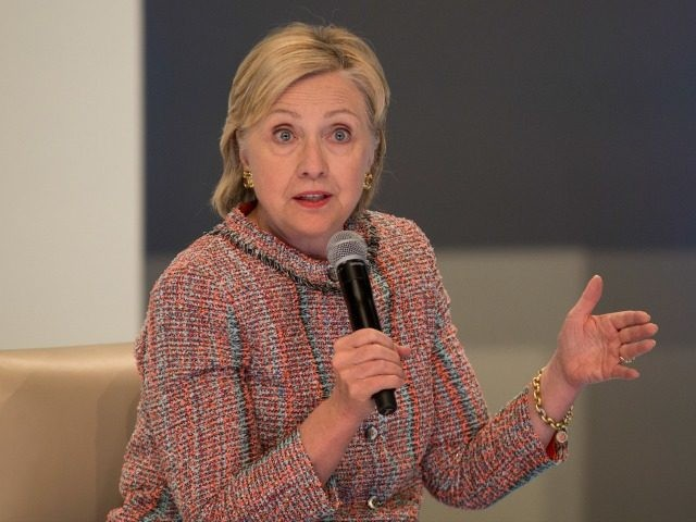 Democratic presidential candidate Hillary Clinton on June 28, 2016 in Los Angeles.