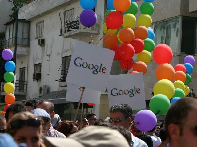 Google gay pride (Niv Singer / Flickr / CC / Cropped)