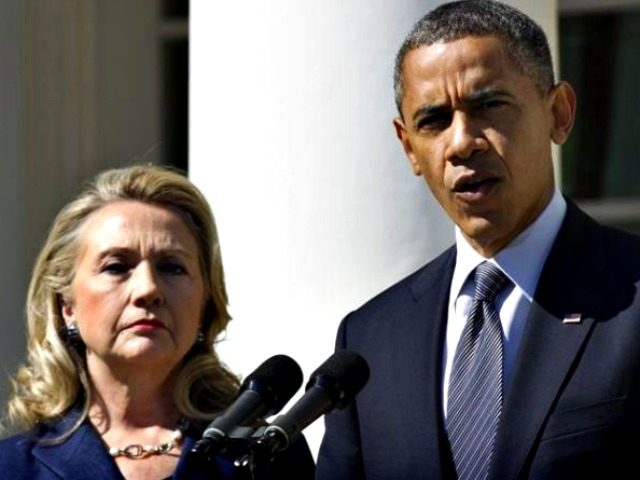 Hillary Behind Obama