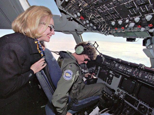 Hillary Clinton Bosnia AP