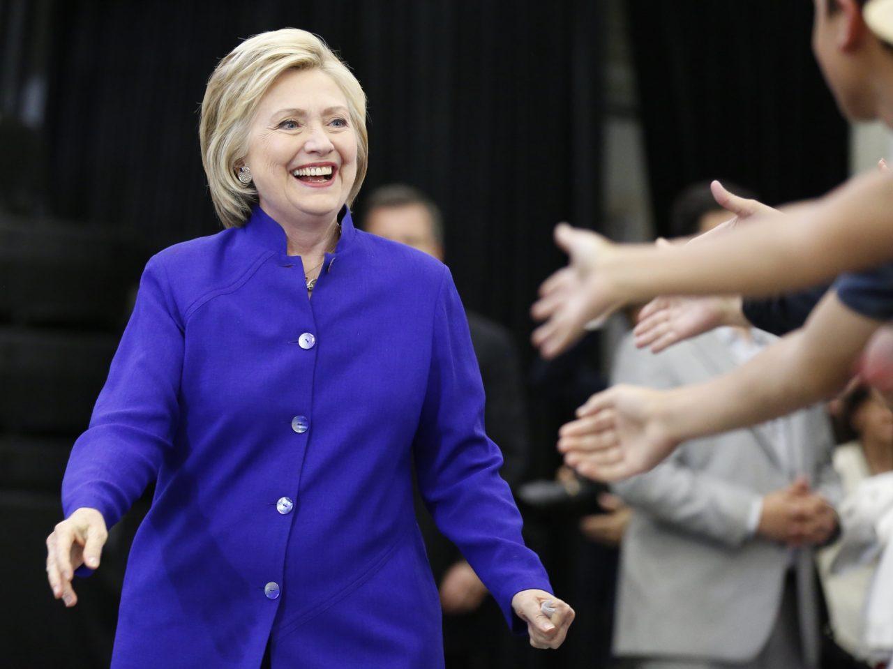 Hillary Clinton Fat Ass 58