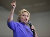 Hillary Clinton (John Locher / Associated Press)