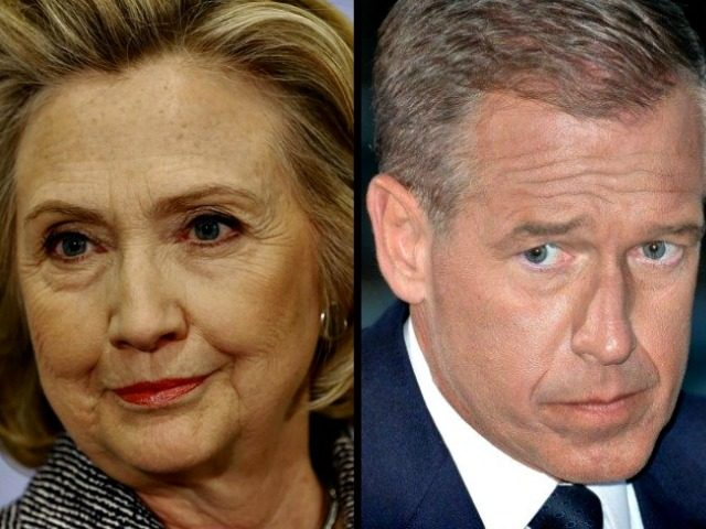 Hillary Clinton Seth Wenig AP Brian Williams