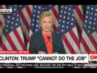 Hillary Clinton Thin Skin Trump Speech CNN