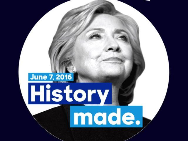 Hillary Clinton magnet (Clinton campaign)