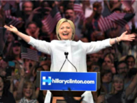 Hillary Wins Nom TIMOTHY A. CLARYAFPGetty Images