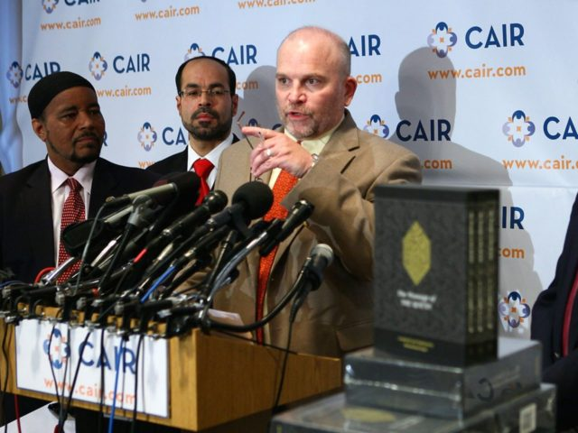 Ibrahim Hooper of CAIR (Alex Wong / Getty)
