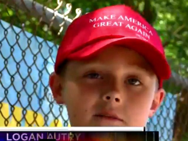 Logan Autry Trump Hat