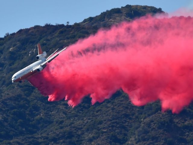 Los Angeles fire (Robyn Beck / AFP / Getty)