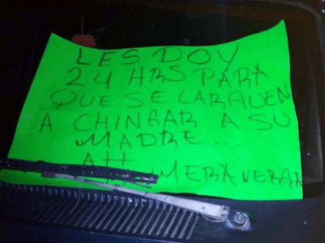 Los Zetas cartel threats
