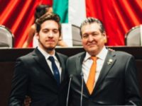 Javier Cardenas and his father politician Gustavo Cardenas