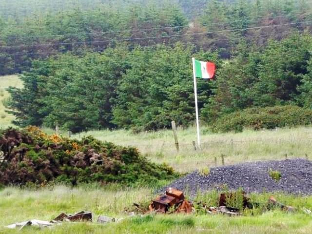 Mexican Flag in Scotland
