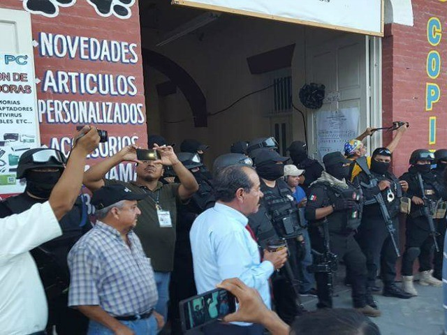 Mexican political protest 1