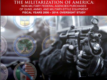 Militarization of America Open the Books