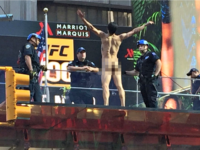 Naked Man Storms Times Square, Screams 'Donald Trump, Where the F–K Are You?'