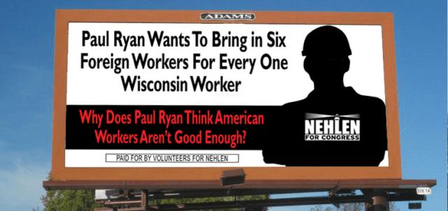 Nehlen workers billboard