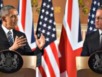 Obama Tells Cameron Getty