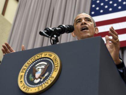 Obama at American University (Susan Walsh / Associated Press)