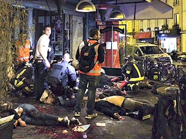 Paris Attack Anne Sophie Chaisemartin via AP