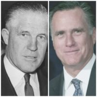 Like Father, Like Son: Mitt Romney Shivs Donald Trump Like his Dad Knifed Barry Goldwater