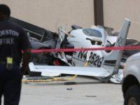 Plane Crash near Hobby - AP Photo