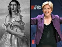 Pocahantas and Elizabeth warren - AP Nick Wass