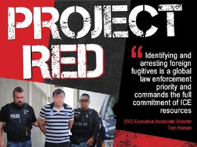 Project Red II international fugitives