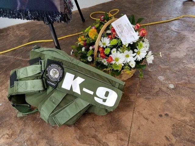 K-9 Rex Funeral