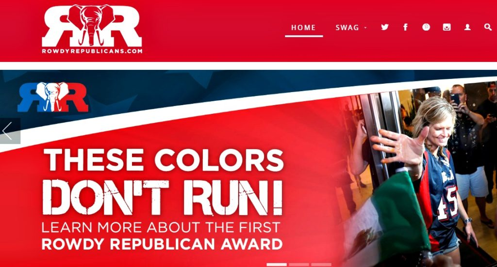 RowdyRepublicans.com These colors don't run