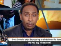 "ESPN2 ""First Take"" co-host Stephen A. Smith reacted to Houston …"