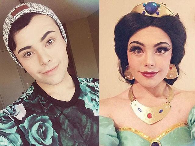 Photos: Male 'Disney Addict' Transforms Himself Into ...