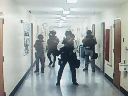 UCLA shooting (Kara Leung / Twitter)