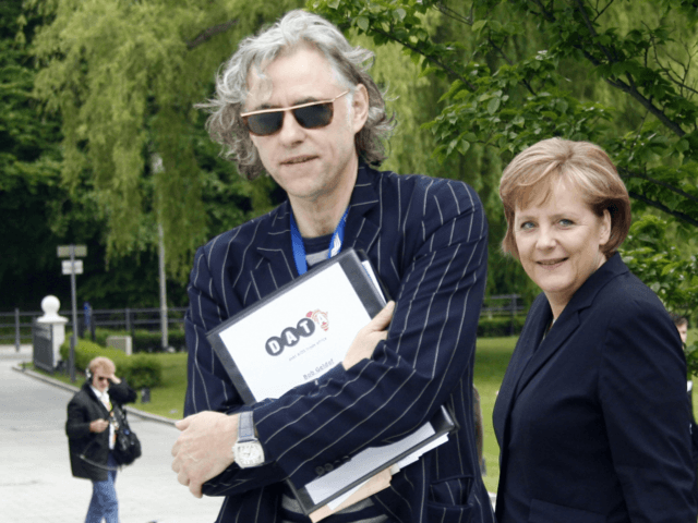 Bob Geldof, the Irish singer and political activist, has instructed …