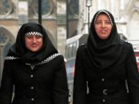 Muslim police Hijab