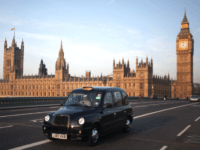 London Black Cab Houses OD Parliament