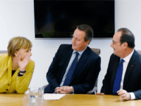 Cameron Merkel Hollande