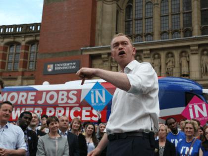 Tim Farron Stronger In Brexit