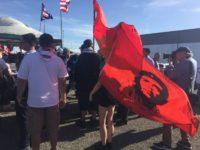 Che Guevara at Trump Sacramento (Michelle Moons / Breitbart News)