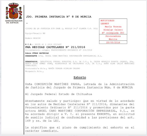 Spanish Court 1