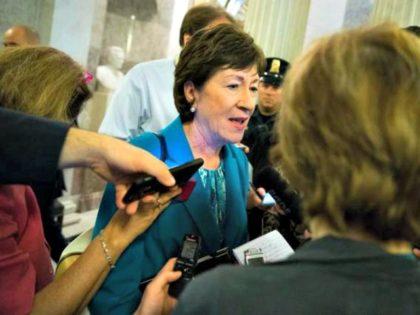 Susan Collins Reporters AP