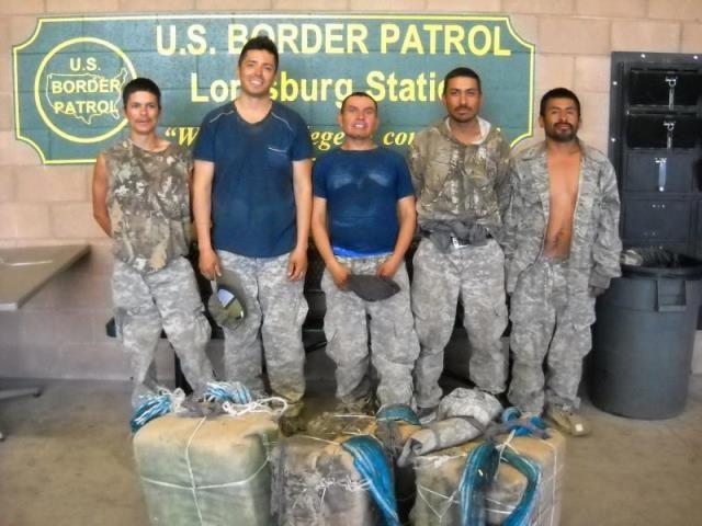 suspected drug smugglers
