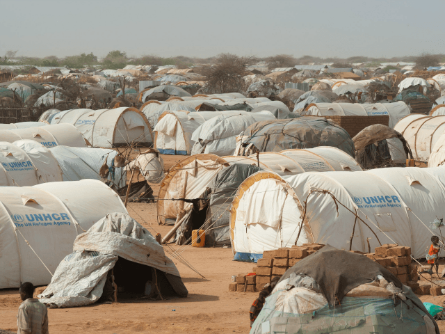 Tents fill the outskirts of Dagahaley refugee camp in Kenya's Dadaab refugee complex on July 24, 2011.