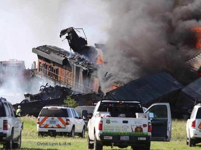 Texas Train Collision