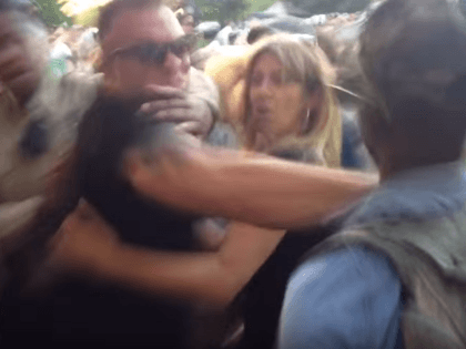 Fight at Houston Trump Rally