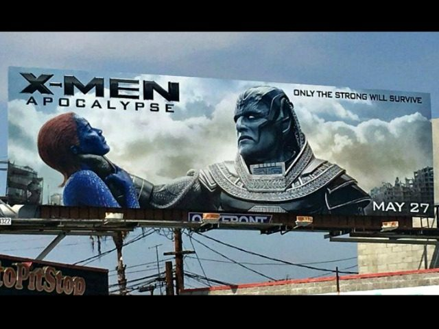 X-Men Billboard 20th Century Fox