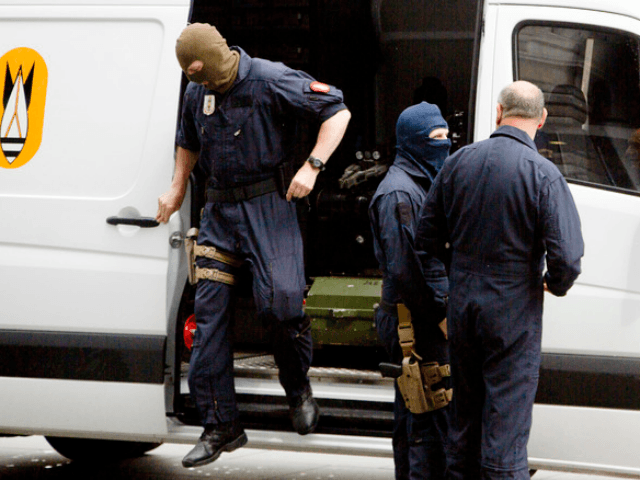 BRUSSELS (AP) — Belgian authorities charged three men with terror-related …