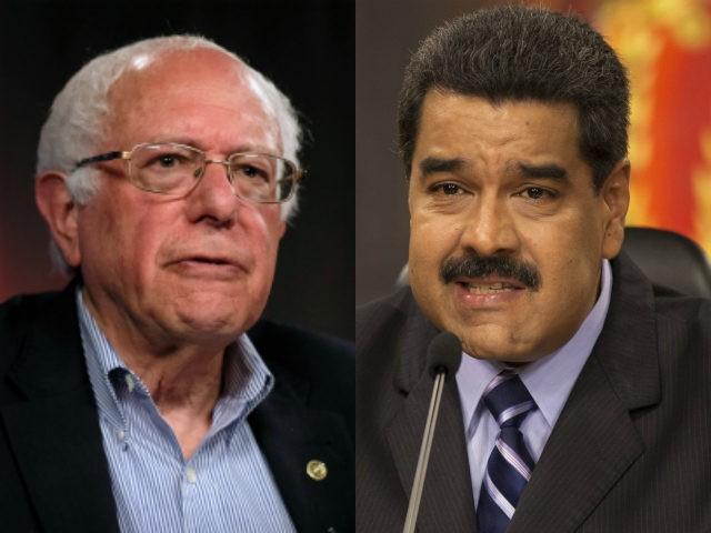 Bernie Sanders and Nicolas Maduro