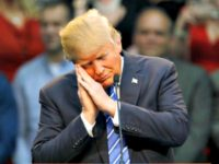 donald-trump feigns sleep REUTERSJonathan Drake