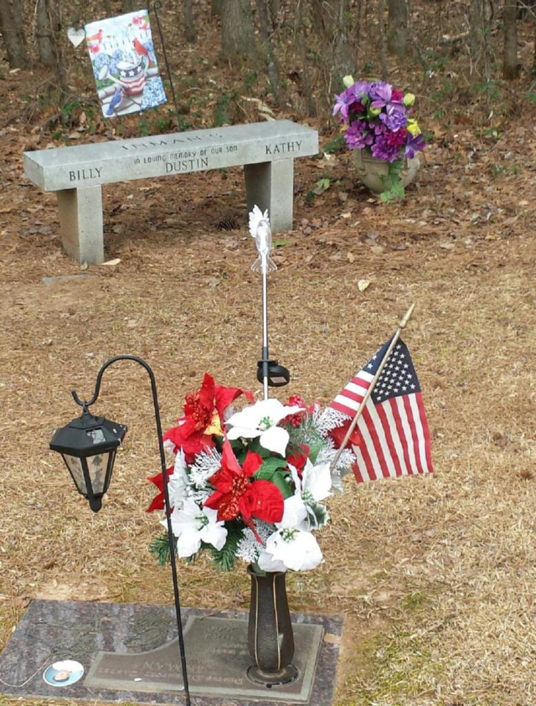 dustin's grave